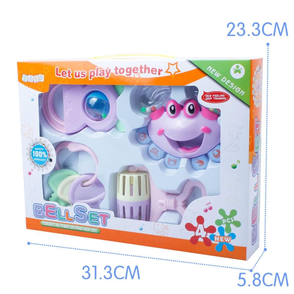 4 PCS Խառը Նվերների տուփ Մանկական - Խաղալիքներ նորածինների համար - Լուսանկար 3