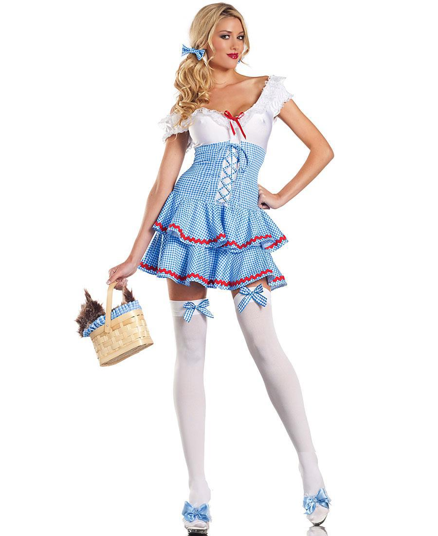 the wizard of oz dorothy maid outfit role playing game uniforms