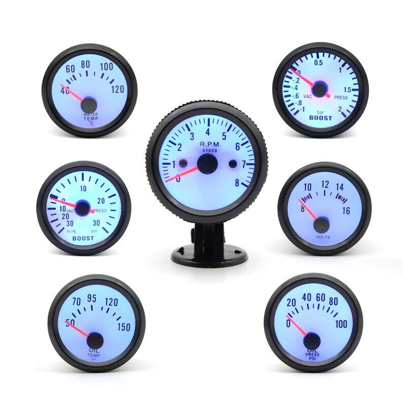 boost water temp oil temp oil press voltage tachometer rpm. Black Bedroom Furniture Sets. Home Design Ideas