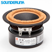 "2PCS/LOT Audio Labs 3"" Full Range frequency Speaker 3 inch unit tweeter Medium and bass driver repair DIY home theater"
