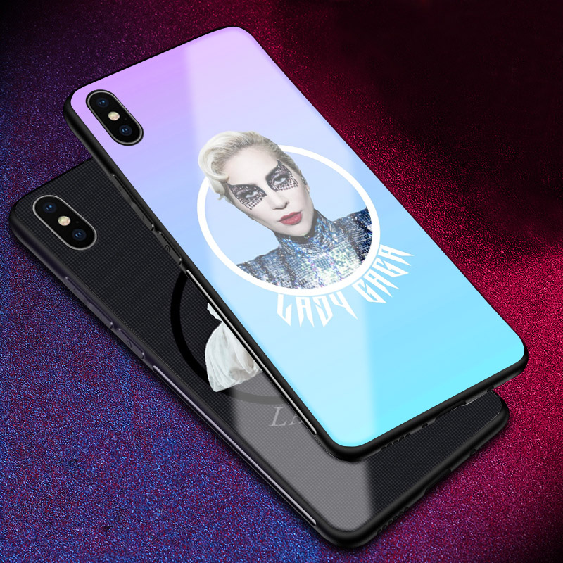 Lady Joanne Gaga Mother Monster Tempered Glass Phone Case Shell Cover For Apple iphone 6 6s 6Plus 6sPlus 7 8 7Plus 8Plus X