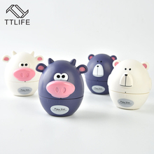 TTLIFE 60-Minute Kitchen Timer Cartoon Animal Mechanical Countdown Cooking Countdown Timer Alarm Counter Reminder Kitchen Gadget e74 cute 60 minute ladybug timer easy operate kitchen useful cooking timer ladybird shape