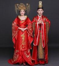 Chinese traditional dress Classical Wedding Red wedding dress Cheongsam Han Chinese clothing aliexpress uk