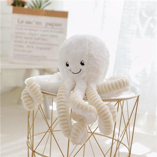 18-80cm Creative Cute Octopus Plush Toys Octopus Whale Dolls & Stuffed Toys Plush  Pendant Sea Animal Toys Children Baby Gifts
