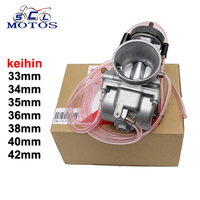Sclmotos Motorcycle KEIHIN PWK Carburetor 33 34 35 36 38 40 42mm Air Striker For 4T
