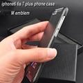 Реальные Углеродного Волокна авто М эмблема телефон дело наклейка для iphone6 6 s 7 плюс для BMW F10 F20 F30 E46 E90 E60 1 2 3 5 7 X серии