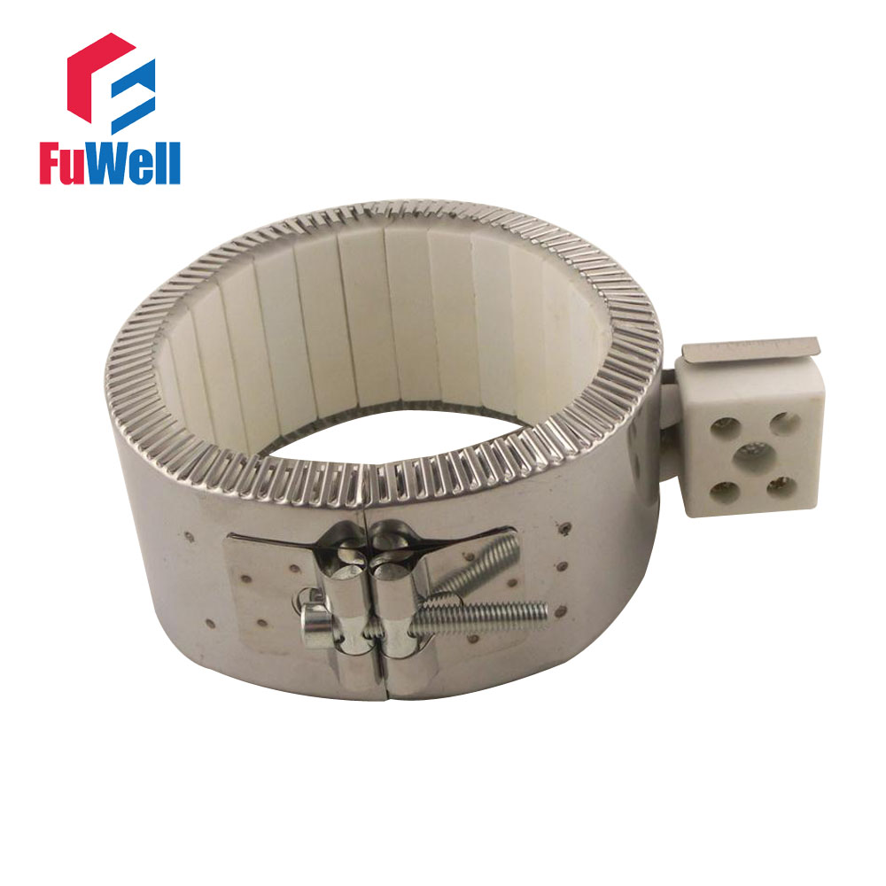 Free Shipping Heating Element 220V 940W Watt 120mm x 50mm Ceramic Heating Band Heater free shipping ceramic band heater 130 75mm 220v 1500w industrial heating element
