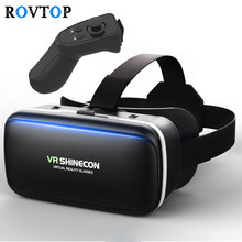 c18416ffdabd Rovtop 3D Glasses VR Box Virtual Reality Cardboard Headset Helmet For  Smartphone Samsung Eyeglasses VR Devices