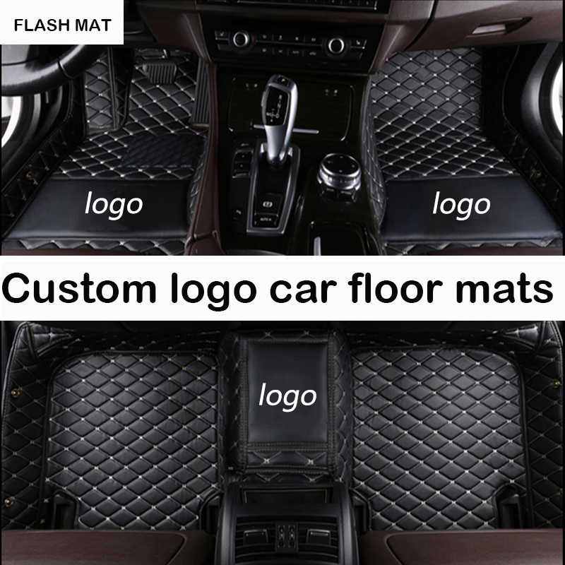 Custom LOGO car floor mats for skoda kodiaq skoda superb 2 3 2013-2018 rapid karoq Octavia auto accessories car mats