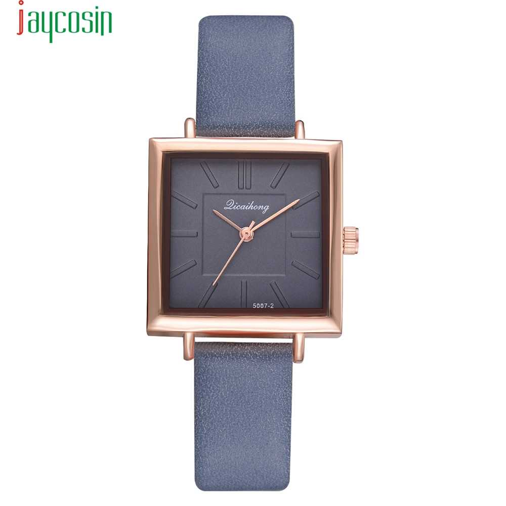 aa71e1368d9 Blue JAYCOSIN Stainless Steel Women Casual Watches New Luxury Wrist Watches  Hour Clock Relojes relogio feminino