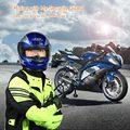 Cara llena de La Motocicleta Casco Abatible Encima Del Casco de Seguridad Estilo Hombres Mujeres Universal Casco de la Moto de Carreras con Calentadores Del Cuello Desmontable