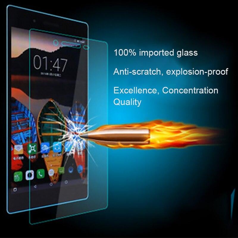 Galleria fotografica Tempered Glass Cover For Lenovo Yoga Tab 3 Pro X50M X90 850F 730M 4 10 8 Plus TB-X304L TB-X304F TB-X704L Screen Protector Film