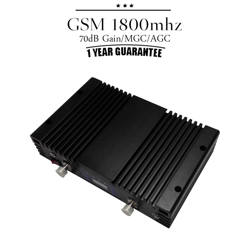 LCD Display MGC GSM DCS 1800 Mobile Phone Signal Repeater 70dB 4G LTE 1800mhz Band 3 Cellphone Cellular Booster Repetidor#40