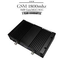 LCD Ekran MGC GSM DCS 1800 Mobil Telefon Sinyal Tekrarlayıcı 70dB Kazanç 4G LTE 1800 mhz Band 3 Cep Telefonu Hücresel Güçlendirici Repetidor
