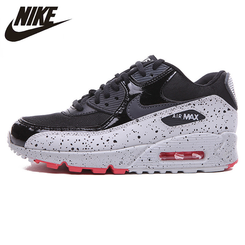 цена на Nike New Arrival Air Max 90 Women 's Running Shoes Original Breathable Outdoor Sneakers Shoes 325213-031