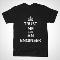 New Summer Style Cotton Printed Short Sleeve T Shirt I AM AN KEEP CALM TRUST ME