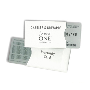 Image 5 - Certified Charles Colvard Forever One Round Brilliant Moissanite Loose Diamond Stones 5mm 0.41CT DEF Color VVS VS Test Positive