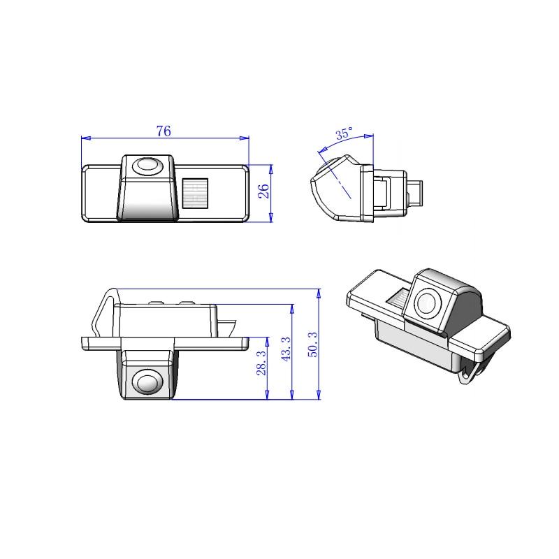 For Citroen DS5 DS3 C4 C5 C QUATRE C Triomphe with 2.4Ghz