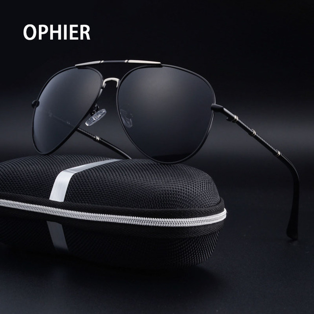 OPHIER Luxury Brand Sunglasses Men Polarized Sunglasses Male Driving Mirror Sunglasses for Men oculos de sol Eyewear Accessories