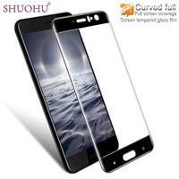 SHUOHU 9H 3D Full Cover Screen Protector For HTC U11 U 11 Tempered Glass For HTC
