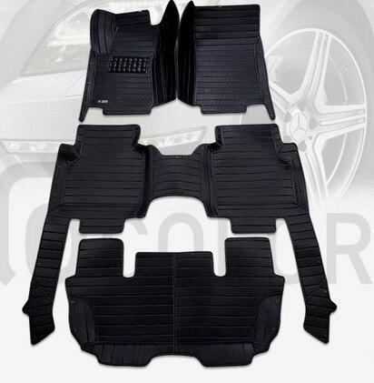 New arrival Custom special car floor mats for Skoda KODIAQ 7seats 2017 non slip Easy to