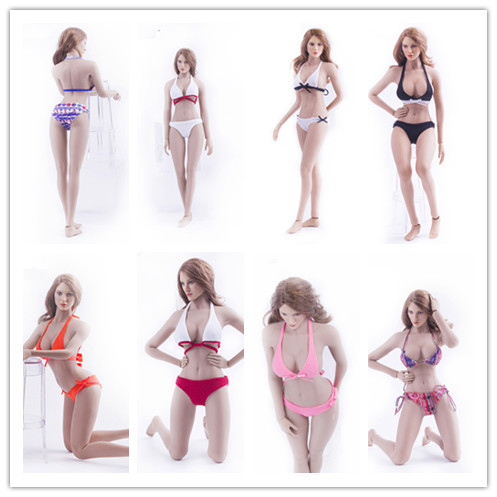 On Sale 1 6 Skala Action Figure Aksesoris Pakaian Dalam Wanita Seksi Bikini font b Swimsuit model baju renang wanita beli murah model baju renang wanita lots,Model Underwear Wanita