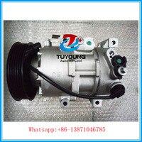 Ac pompa di aria condizionata compressore per Hyundai i40 CW (VF) D4FD 2011-2015 1B33E00700 2A0920039 1B33E-00700 4J031-0162
