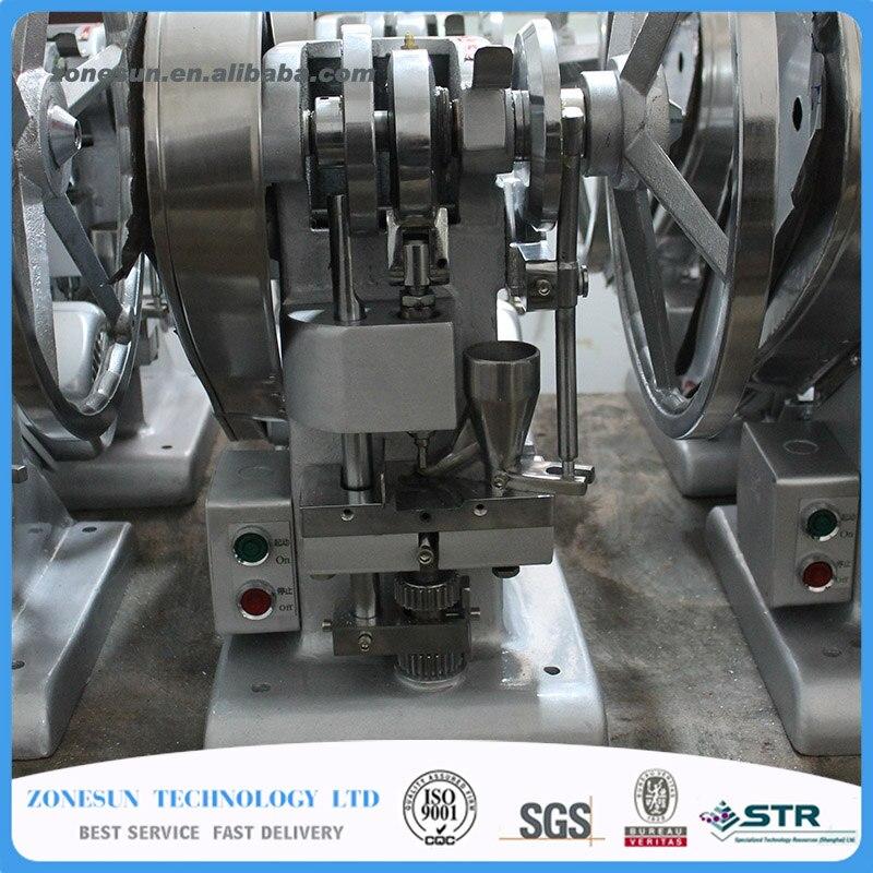ZONESUN Single punch tablet press machine TDP1.5 tablet press machine / TABLET PRESSING Making Machine electric tablet pressing machine pill press machine tablet making machine
