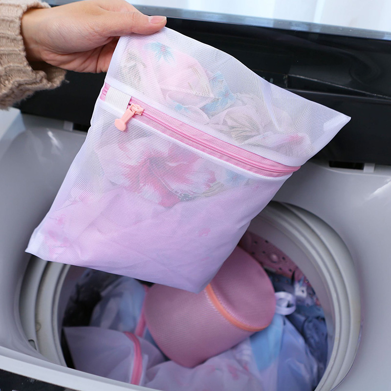 3/5/6PCS/set Bra Underwear Products Zippered Mesh Laundry Bags Baskets Household Cleaning Tools Accessories Laundry Care Set