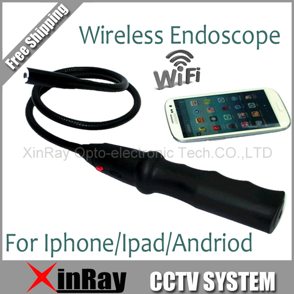 New Wifi Wireless Endoscope Camera Tool Camera Inspection Snake Camera For  Android IOS EW13 Phone Tablet PC Freeshpping детская игрушка new wifi ios
