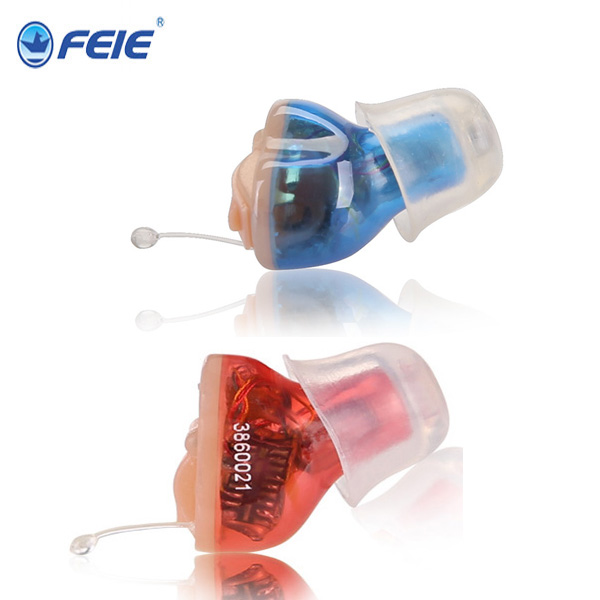 2 PCS / Lot Digital Hearing Aids Itc 2 Channels, Non-Programmable Hearing Aid S-10A for Left & Right Ears rehabilitation therapy supplies properties digital hearing aid programmable s 15a with 4 channels