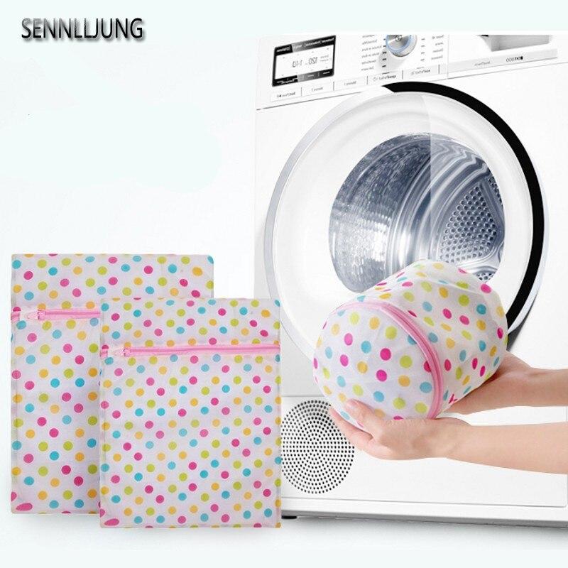 SENNLLJUNG Clothes Washing Bag Storage bag Foldable Laundry Bucket Clothes Organizer Laundry Baskets Storage Organizer