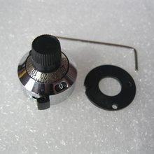 1 шт. 3590S прецизионная ручка масштаба потенциометра оснащена 10 кольцевым регулируемым резистором многооборотный потенциометр