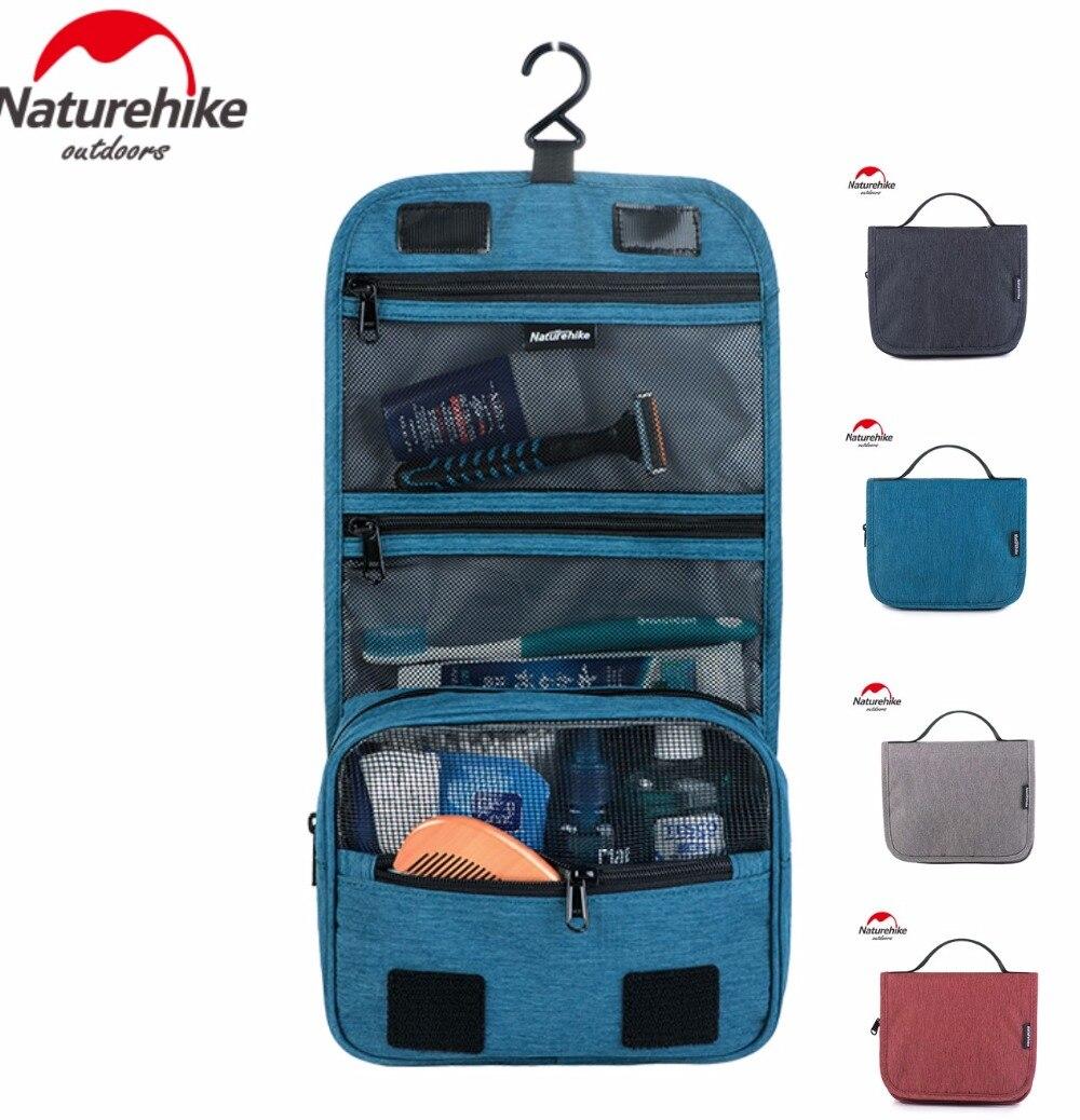 Naturehike Men Women Waterproof Cosmetic Bag Make Up Toiletry Bag Storage Multifuction Travel Swimming Wash Bag