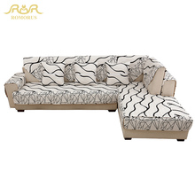 1-Piece High Slip-resistance Sofa Covers Upgraded Quality Slipcovers Non-slip Thick Quilted Corner Sectional Sofa Couch Cover