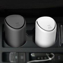 Car rubber Trash Bin Auto Organizer Storage Can Rubbish Box Holder Automobile Bucket Accessories