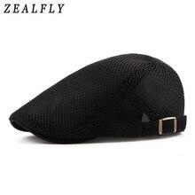 Acoplamiento del verano sombrero de la boina para los hombres mujeres  sólido Casual Ivy Flat Cap Cabbie Newsboy estilo Gatsby so. 3c5e8f8395b
