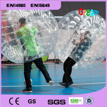 Free ShippingHot Selling 1.5M 0.8MM  TPU Inflatable Bubble Ball,Zorb,Bubble Soccer ,Bumper Ball,Loopy Ball,Human Hamster Ball