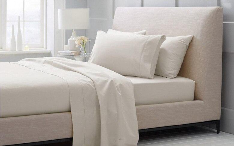 100% coton égyptien ensemble de literie 1600 TC suisse King size 2.1 m blanc beige couleurs N pièces draps housse ensemble personnaliser