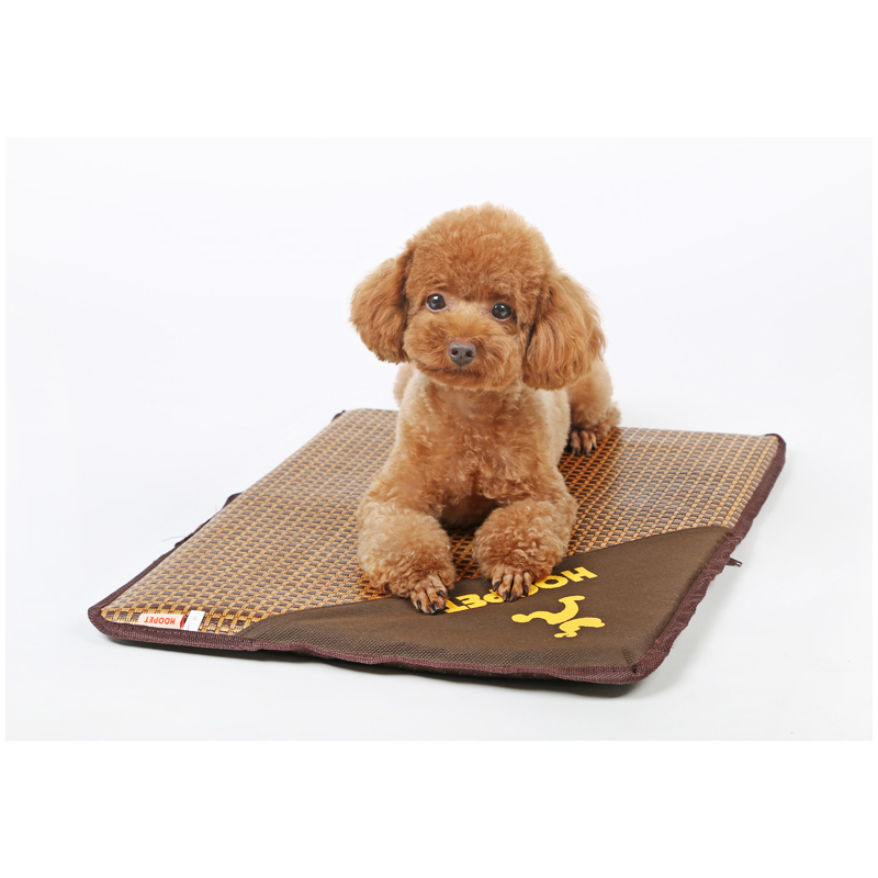 pet dog bed heat mat cooling mattress litters small summer breathable kennel chats chiens animaux accessories