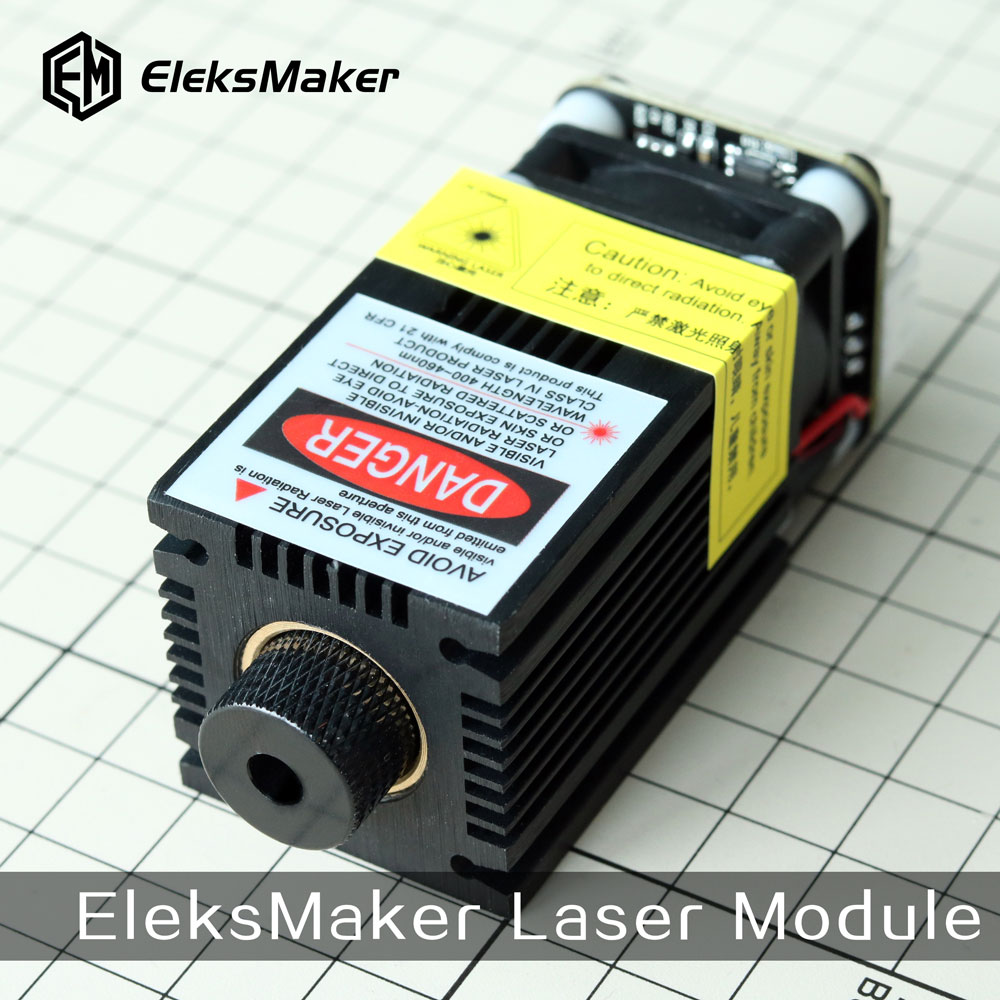 EleksMaker 405nm 500mw Blue Light Laser Module Parts with
