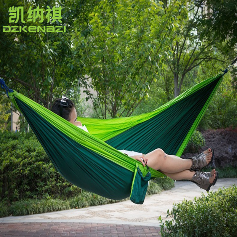 300 x 200 CM High Strength Camping 210T Parachute Hammock Hanging Bed