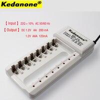 Carregador Kedanone KDN-C18 8 slots Carregador para AA/AAA Ni-MH/Ni-Cd bateria Recarregável inteligente Carregador de Bateria
