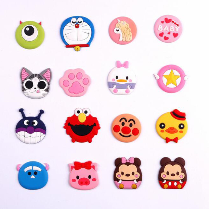 Universal Mobile Phone Bracket Cute 3D Animal Airbag Phone Expanding Stand Finger Holder For Iphone Xiaomi Phones Holder Stand