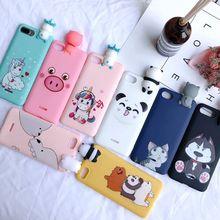 5A 6A 4X etui Xiaomi Redmi 6A 5A S2 4X Case Cover Kawaii 3D