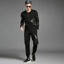 Moletom Masculino Men s High end Fashion Personality Sweatshirt Men Leisure Plus Size Brand Clothing Mens