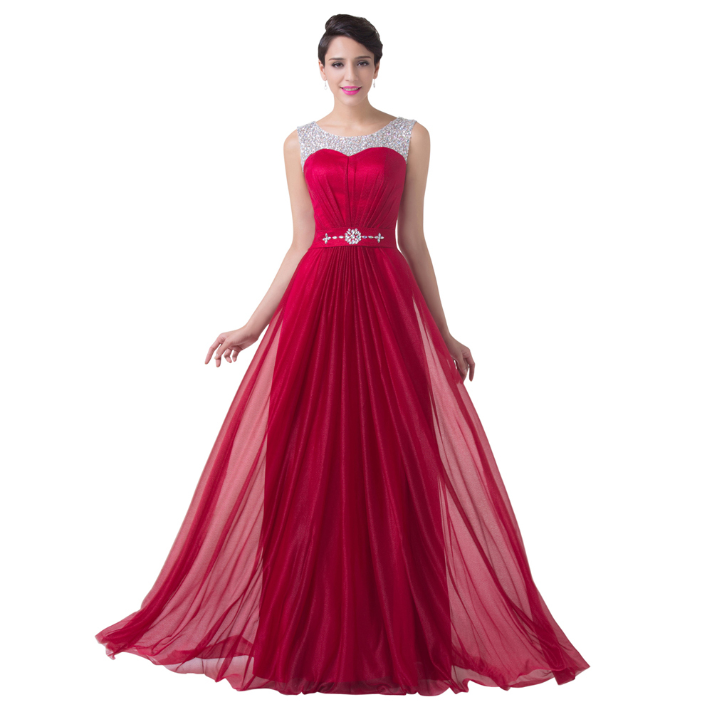 Compare prices on bridesmaid dresses beaded online shoppingbuy burgundy red bridesmaid dress beaded chiffon a line formal dress wedding party gown floor length long ombrellifo Image collections
