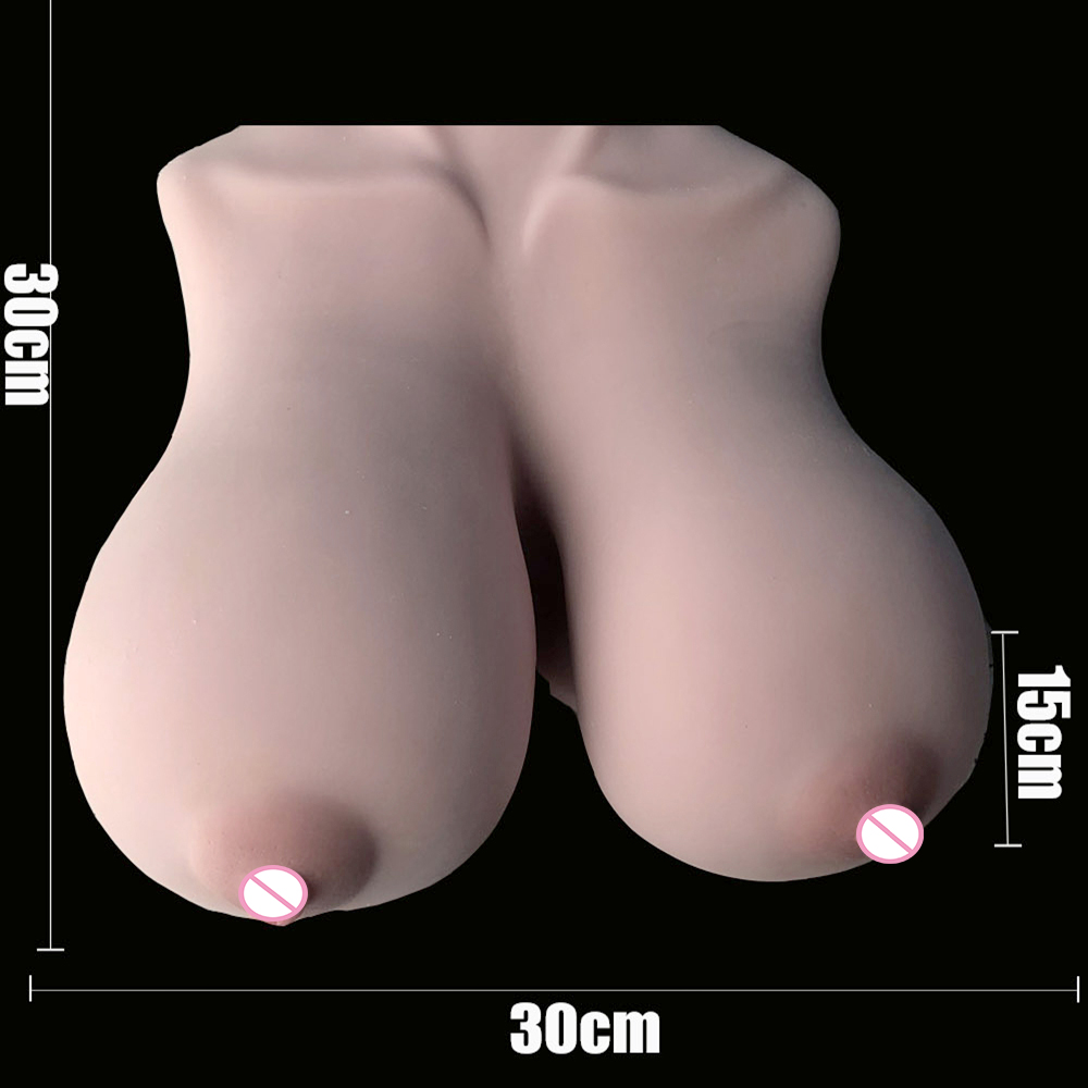 Image 5 - False breast Artificial Breasts Silicone Sex Breast Male penis Masturbator anal soft realistic female skin Adult Sex Product-in Sex Dolls from Beauty & Health