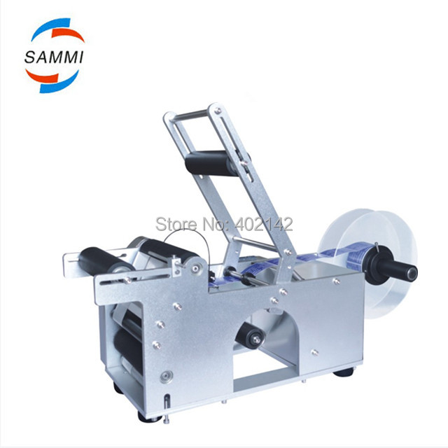Free Shipping,High quality MT-50 Manual Round Bottle Labeler Machine for sale