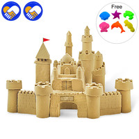 A TOY A DREAM 500g Bag Colorful Sand Light Clay Children Magic Beach Space Sand And